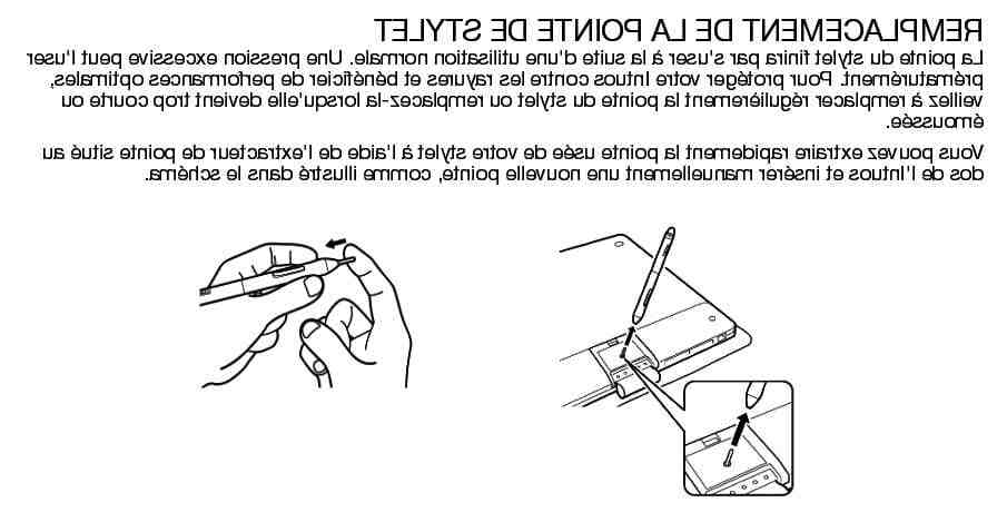 Comment changer embout stylet ?